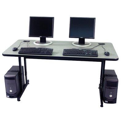 "Paragon Furniture Classic Student Computer Table - Size: 48"" W, Laminate Top: Natural Tigris"