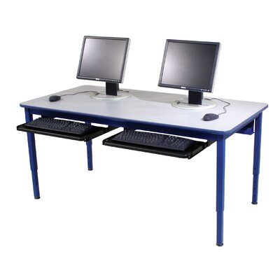 Computer Table with Modesty Panel