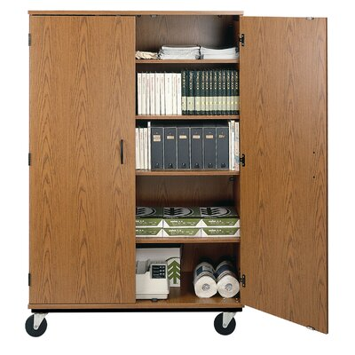 2 Door Storage Cabinet Finish: River Cherry Product Image 968
