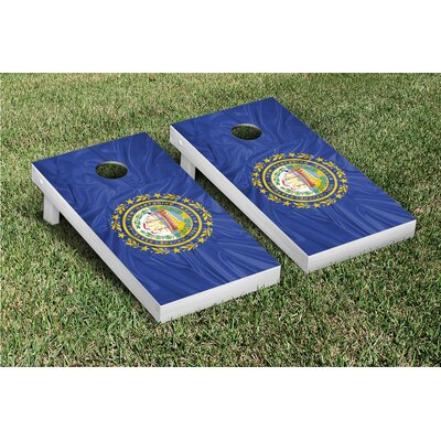 Victory Tailgate State Flag Cornhole Game Set - State: New Hampshire at Sears.com