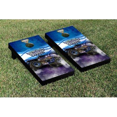 Monster Jam Smoke Version Cornhole Game Set NCAA Team: Monster Jam Son Uva Digger