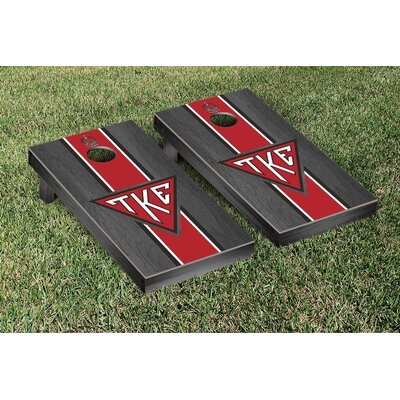 NCAA Tau Kappa Epsilon Stained Cornhole Game Set WFVT-31655