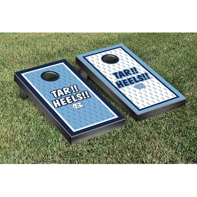 NCAA North Carolina Tar Heels Tar!! Heels!! Version Cornhole Game Set WFVT-810482