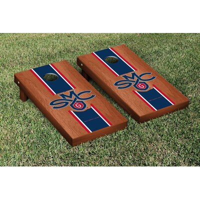 NCAA Stained Version Cornhole Game Set Color: Rosewood, Team: Saint Marys College California Gaels WFVT-31878