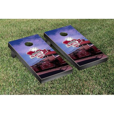 NCAA South Carolina Gamecocks Palmetto Version Cornhole Game Set WFVT-278638