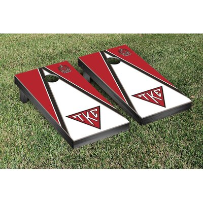 Tau Kappa Epsilon Triangle Cornhole Game Set WFVT-31657