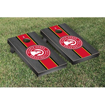 NBA Stained Stripe Version Cornhole Game Set VT28504