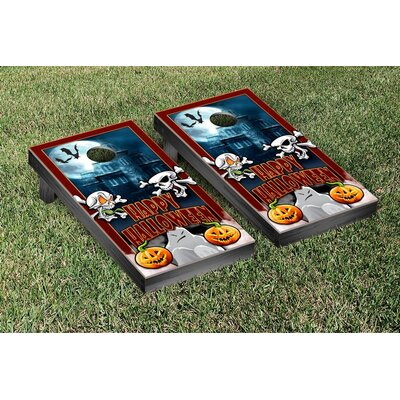 Halloween Themed Cornhole Game Set