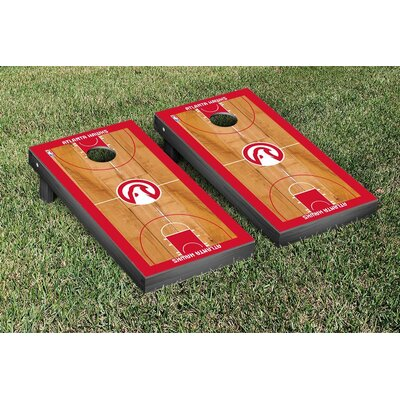 NBA Basketball Court Version Cornhole Game Set VT28506