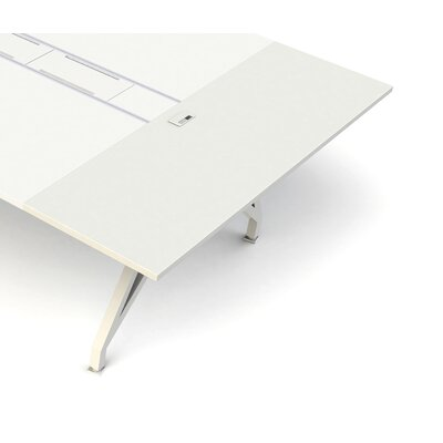 EYHOV Workstations Accessories 1 H Desk Bridge Finish: White