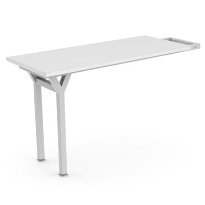 EYHOV Workstations Accesories 29 H x 20 W Desk Peninsula Finish: White