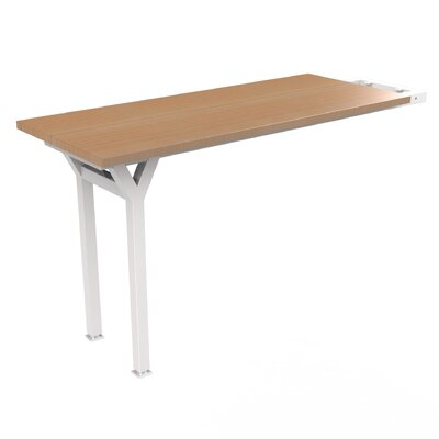 EYHOV Workstations Accesories 29 H x 20 W Desk Peninsula Finish: Maple