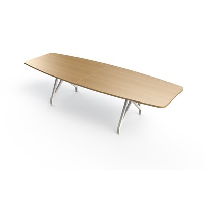 Boat Shaped L Conference Table Top Product Photo 295