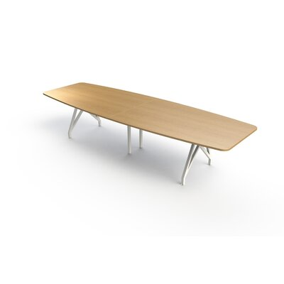 Kayak Boat Shaped 30H x 38W x 120L Conference Table Top Finish: Maple, Size: 12 L