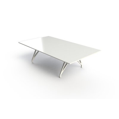 EYHOV Conference 9 Rectangular Conference Table Finish: White Gloss