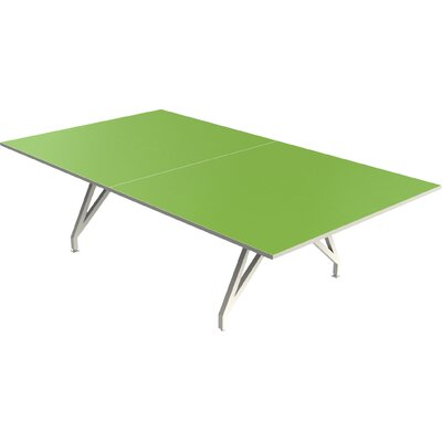 EYHOV Conference Rectangular 30H x 60W x 108L Conference Table Finish: Tangerine