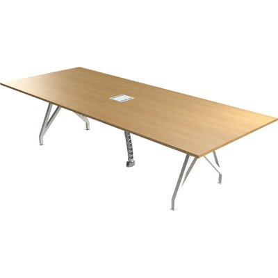 Think Tank Rectangular Conference Table Finish: Maple, Size: 29 H x 48 W x 144 D