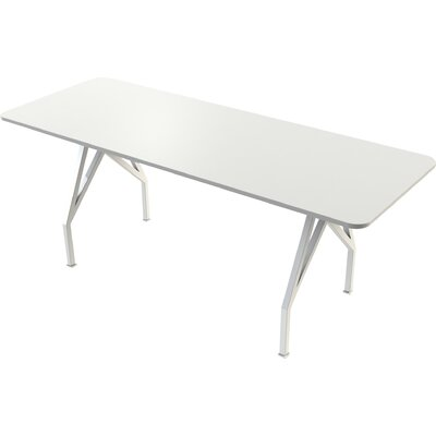 Think Tank Rectangular Conference Table Finish: White, Size: 42 H x 36 W x 96 D
