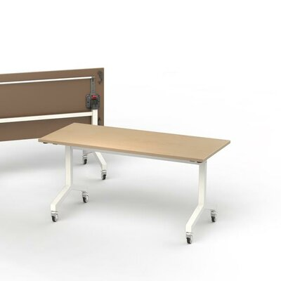 72 W Training Table Finish: Maple, Size: 6 L