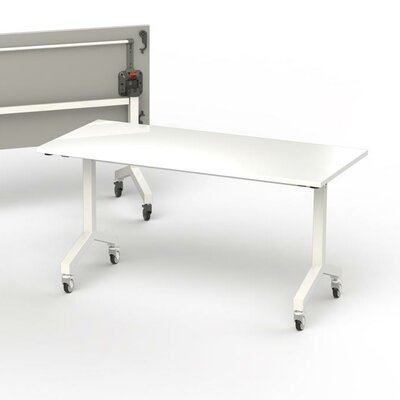 60 W Flip Top Training Table Size: 6 L