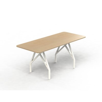 Hot Spot Bar Height Rectangular 43H x 36W x 72L Conference Table Top Finish: Maple, Size: 40 H x 36 W x 96 D