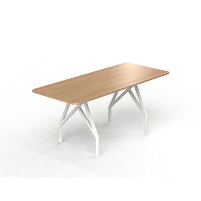 Hot Spot Bar Height Rectangular 43H x 36W x 72L Conference Table Top Finish: Brazil Wood, Size: 40 H x 36 W x 84 D