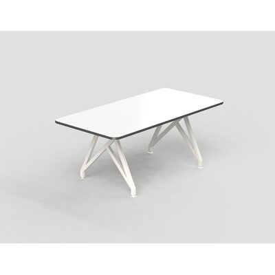 Hot Spot Rectangular Conference Table Top Finish: White Dry Erase/Storm Gray, Size: 30 H x 36 W x 72 D
