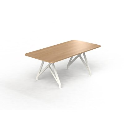 Hot Spot Rectangular Conference Table Top Finish: Brazil Wood, Size: 30 H x 36 W x 72 D