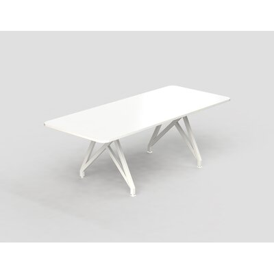 Hot Spot Rectangular Conference Table Top Finish: White Dry Erase, Size: 30 H x 36 W x 96 D