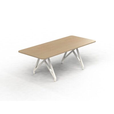 Hot Spot Rectangular Conference Table Top Finish: Maple, Size: 30 H x 36 W x 84 D