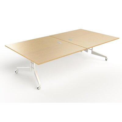 Nomad Rectangular 30H x 60W x 108L Conference Table Finish: Maple