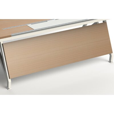 EYHOV Workstations Accessories Desk Privacy Panel Size: 18 H x 70 W x 1 D, Finish: Maple