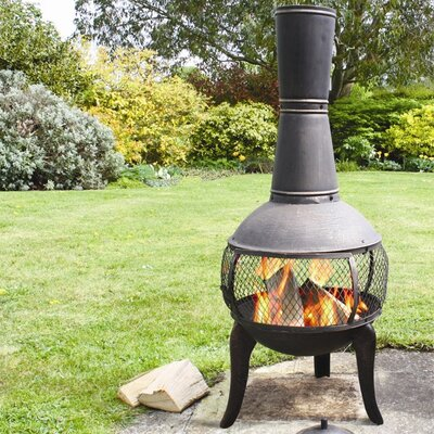 Lease to own Tuscan Glo Chiminea...