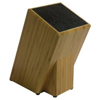 kapoosh knife block in bamboo 650bb best knife block set