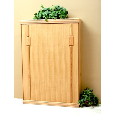 Murphy Bed Size: Full, Color: Natural