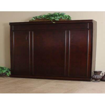 Portola Birch Queen Murphy Bed Color: Cinnamon