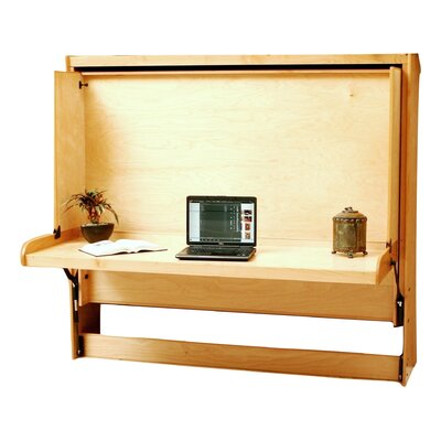 Modern Birch Murphy Bed Size: Full, Color: Natural