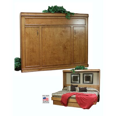 Portola Birch Queen Murphy Bed Color: Sunset