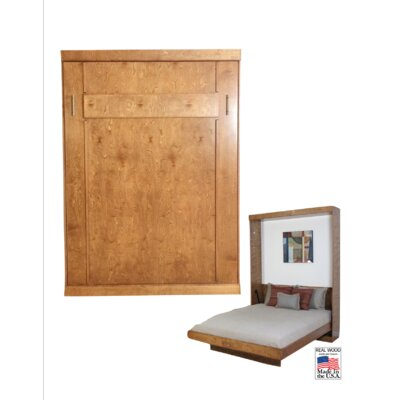Murphy Bed Color: Sunset, Size: Full