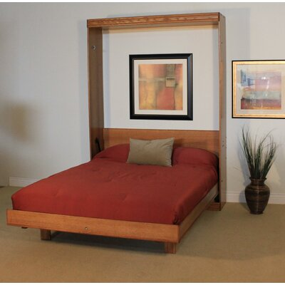 Murphy Bed Size: Queen, Color: Sunset