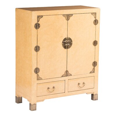 Eden Home Nishi Storage Cabinet Finish: Marbled Cream
