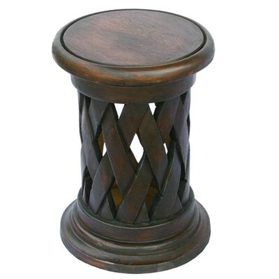 Easy financing Handmade End Table Finish: Distress...