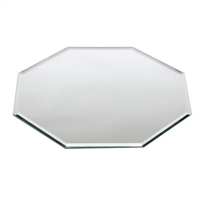 Beveled Glass Centerpiece Mirror