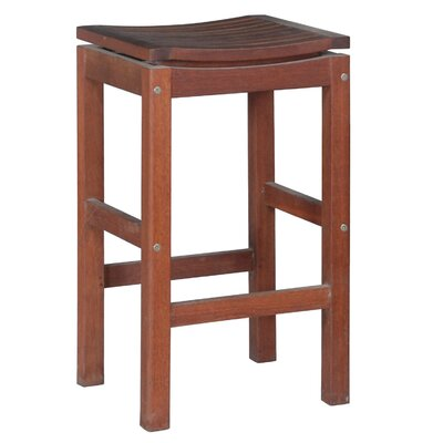 Outdoor Interiors Patio Pub Height Super Stool with Foot Rests at Sears.com
