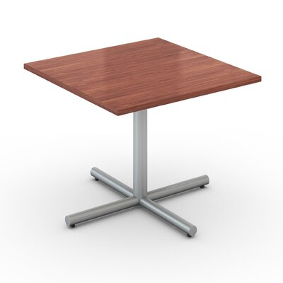 Square Saturn Desk Tabletop Finish: Wild Cherry, Size: 42 x 42