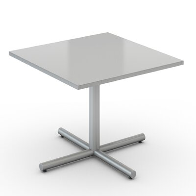 Square Saturn Desk Tabletop Finish: Folkstone, Size: 42 x 42
