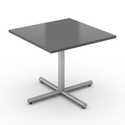 Square Saturn Desk Tabletop Finish: Citadel, Size: 24 x 24