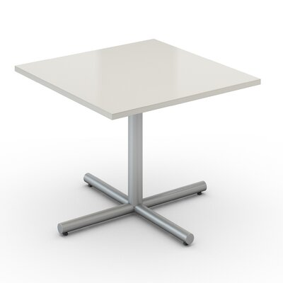 Square Saturn Desk Tabletop Finish: Dover White, Size: 36 x 36