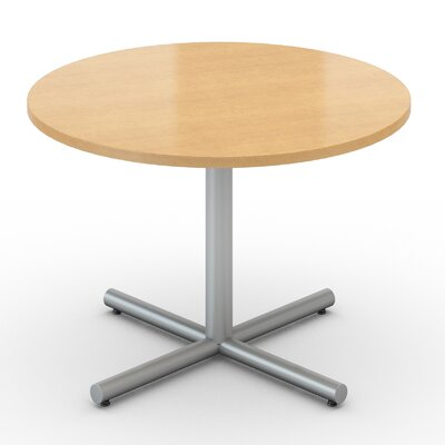 Saturn Round Table Tabletop Finish: Fusion Maple, Size: 42 x 42