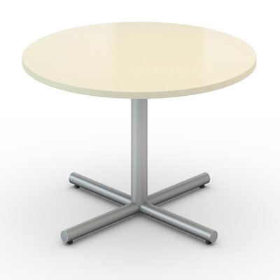 Saturn Round Table Tabletop Finish: Pearl, Size: 42 x 42